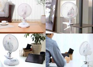 クリップ式扇風機 選び方