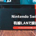 switch 有線lanアダプター